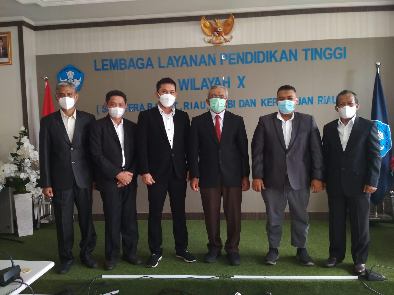 Wakil Rektor III Unilak Jabat Ketua Forkomawa Riau