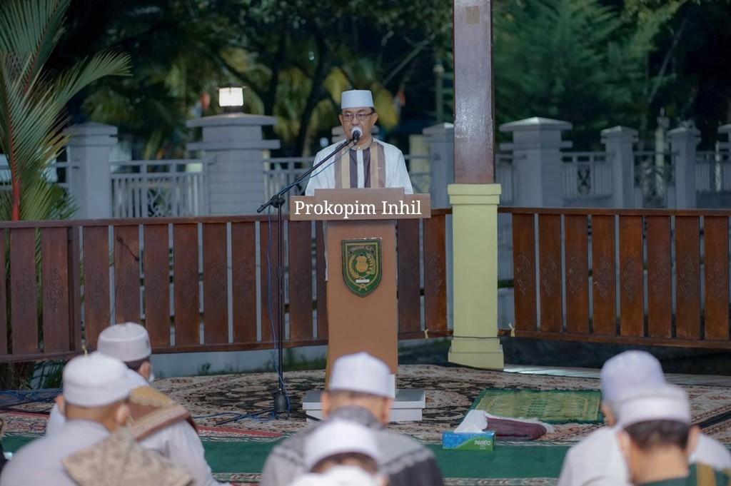 Ikuti Gema Takbir Hari Raya Idul Adha 1442 H, Bupati Inhil: Kokohkan Ukhuwah Islamiyah